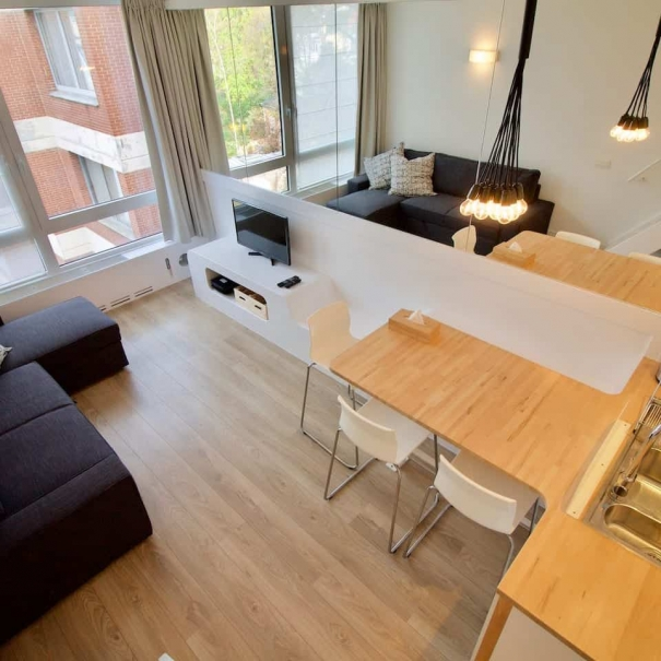 Interior Design | RUE DE L'ABBAYE - BRUSSELS