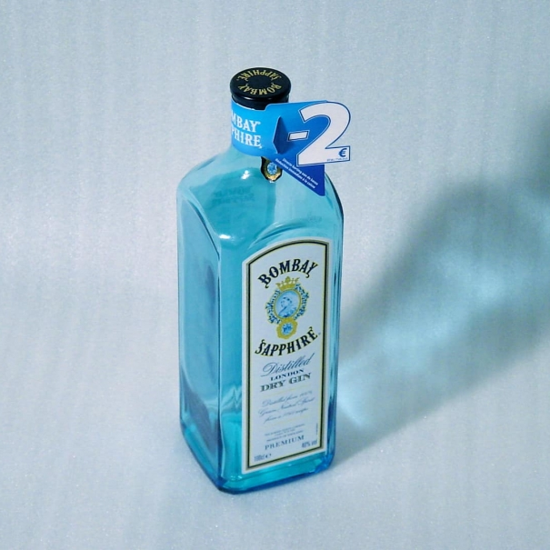 Retail Material – Bombay Sapphire Gin 2005>2008