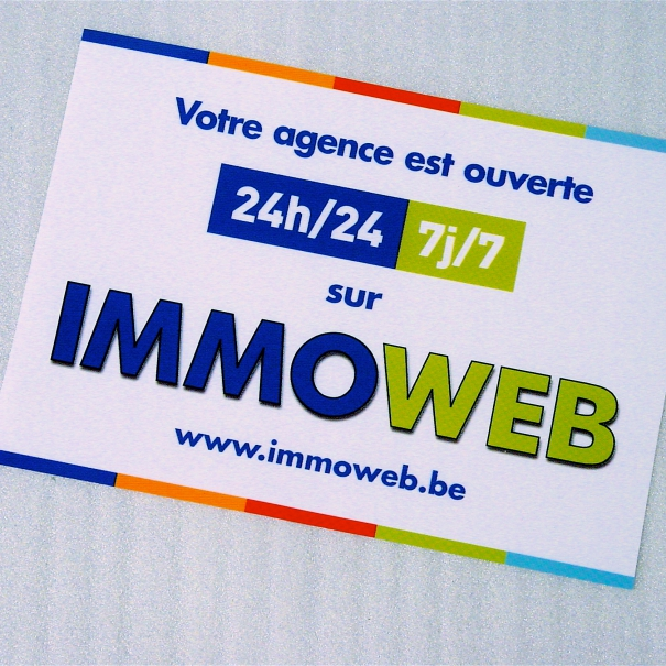 Stickering Agencies – IMMOWEB 2010