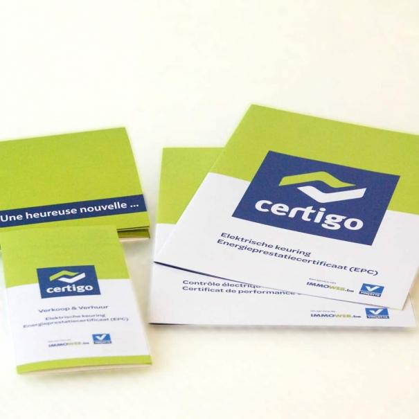 B2B Material – CERTIGO & IMMOWEB 2011