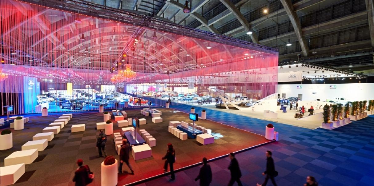 Brussels Motorshow – Lounge Zone 2014