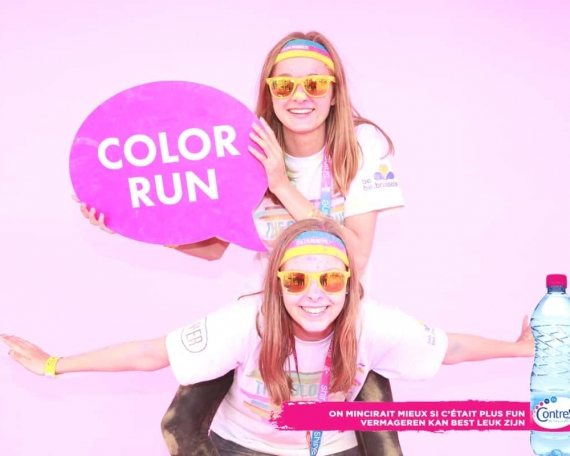 Brussels Color Run - CONTREX 2015