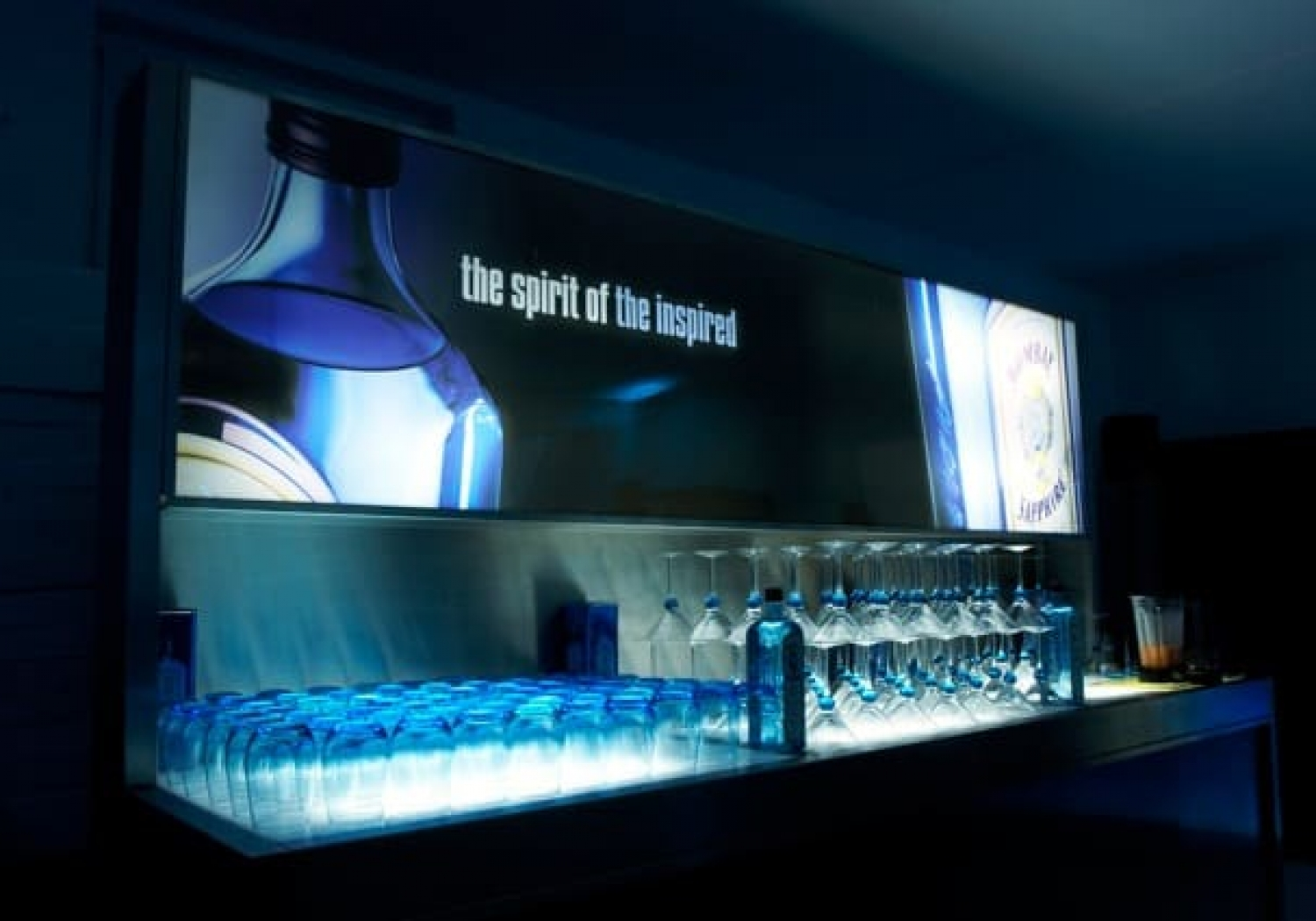 Taylor made & Events - Bombay Sapphire Gin 2005>2008