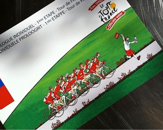 Tour de France / Liège – Vittel 2012