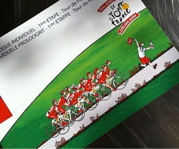 Tour de France / Liège - Vittel 2012