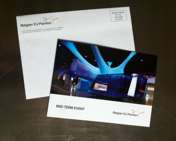Graphic Design – Shanghai Belgian EU pavilion 2010