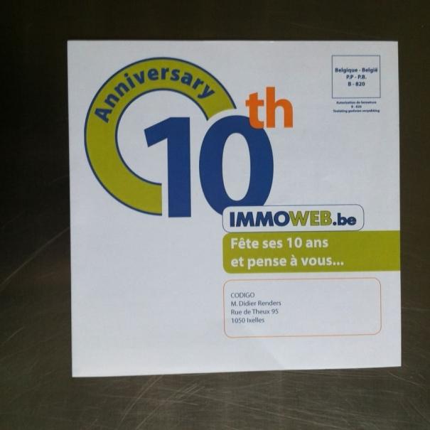 B2B mailing - IMMOWEB 2005>2010