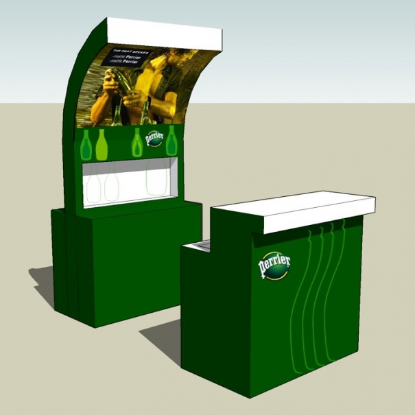 Event Material – PERRIER 2012